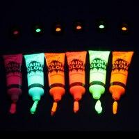 Флуоресцентная краска, 5 штук по 75 мг. #2