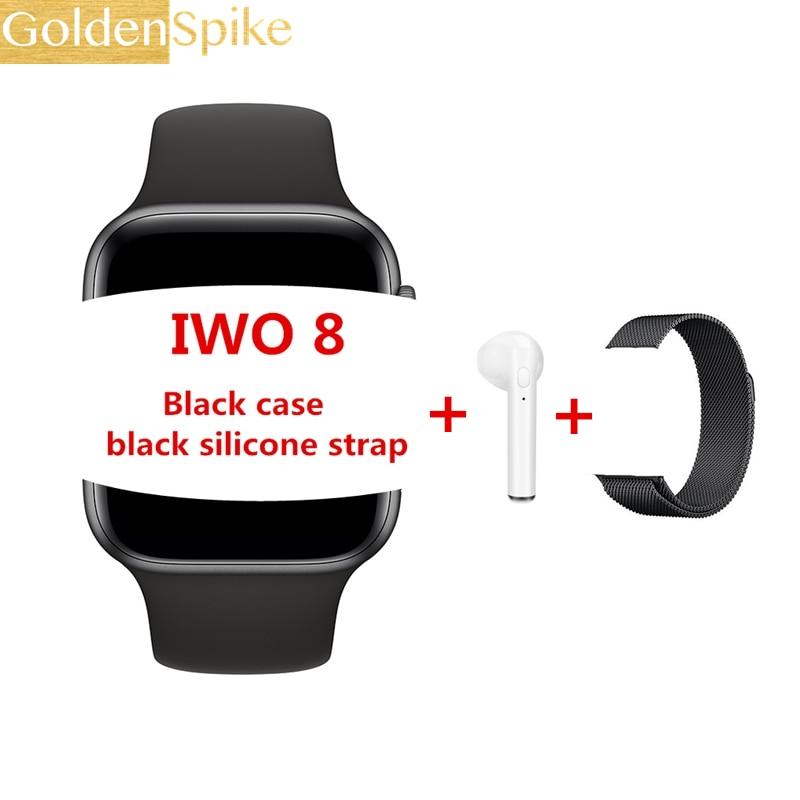Reloj inteligente IWO 8 W54 serie 44mm 4 caja 11 reloj inteligente Bluetooth Ecg relojes para ios android envío rápido para dropshipping