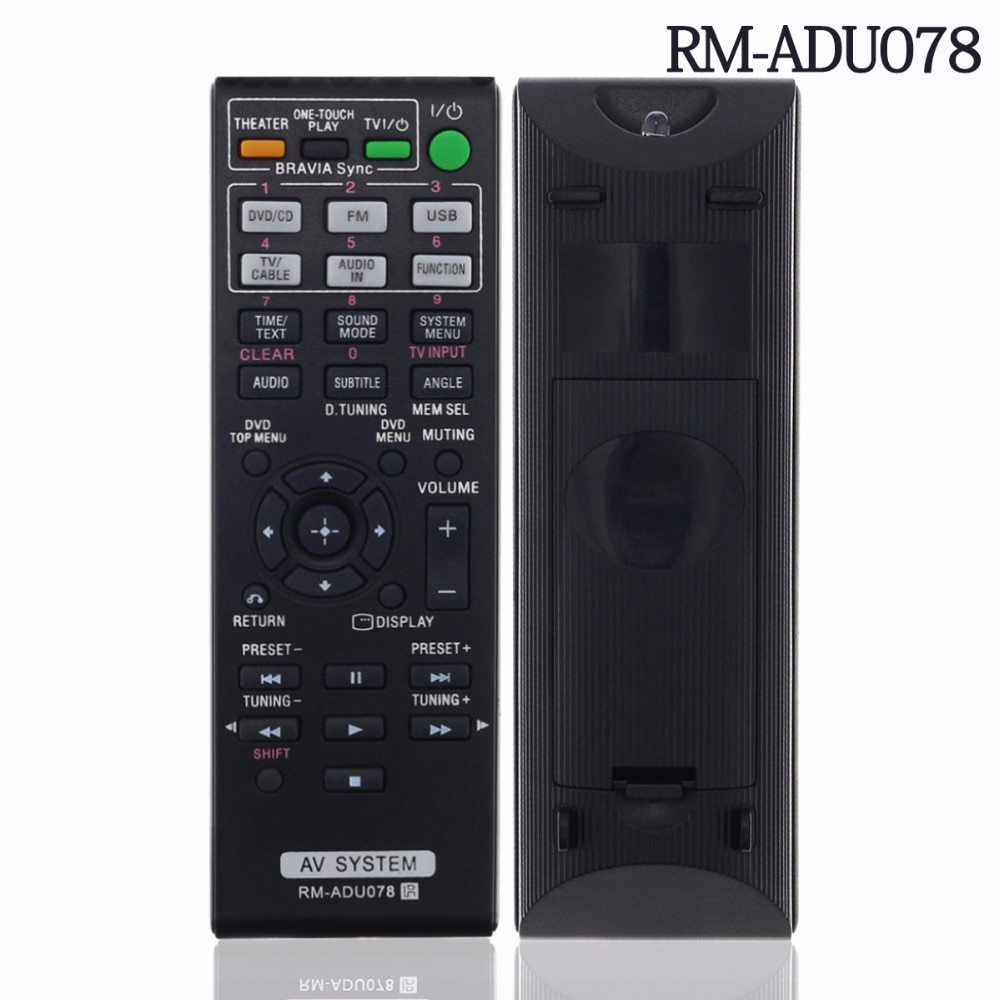 Replacement Remote Control RM-ADU078 RM-ADU079 148764111 For Sony HBD-TZ135 HBD-TZ530 Home Theater AV System