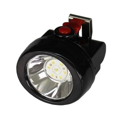 Promoções especiais de 18650 bateria de lítio à prova d água branco iluminação de mineração sem fio levou mineiros lâmpada de tampão de segurança YJM-Kl2.5LM (B)