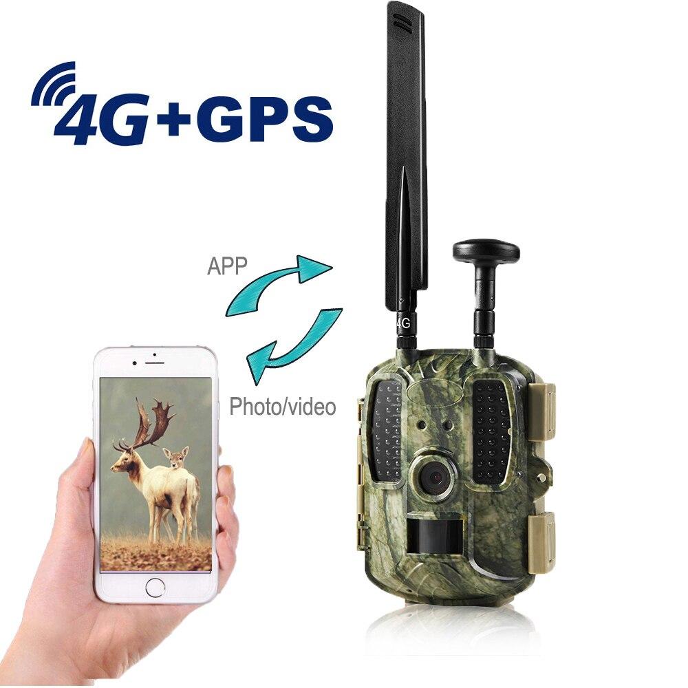 4G الصيد كاميرا صور الفخاخ 4G FDD-LTE نظام تحديد المواقع كاميرا البرية MMS البريد الإلكتروني إرسال صور فيديو التصوير الحراري 12MP 1080P كاميرا تعقب فخ
