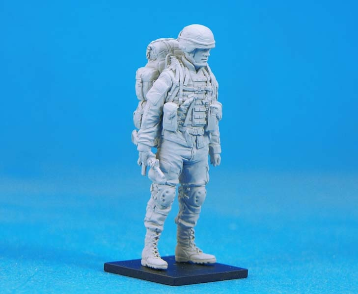 Figura de resina en miniatura 1/35, Kits de Leader de Ratrol sin montar, sin pintar