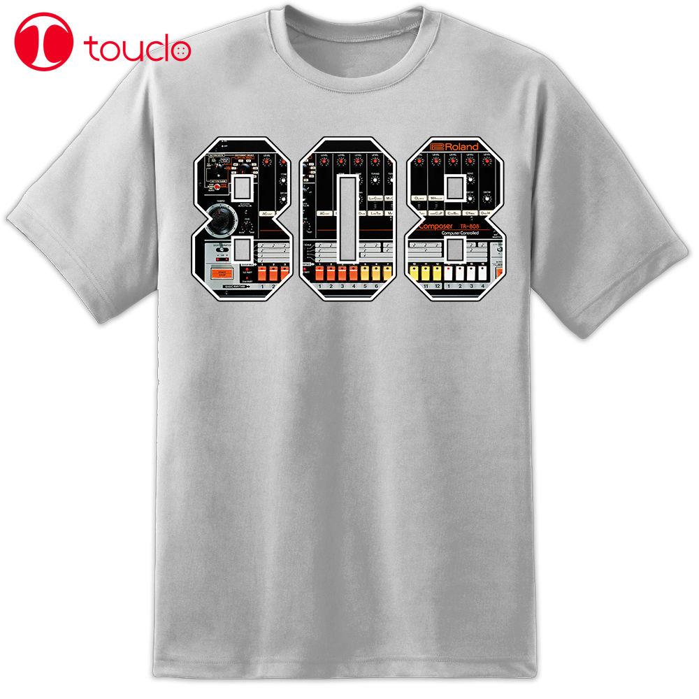 2019 Novo Verão Camiseta Tr808 Amostrador Música Camiseta Dj Djm Pioneer Cdj 2000 Nxs 808 T-Shirt Casual Hoodies