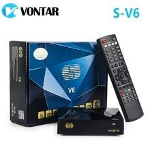 [Véritable] S-V6 Mini HD DVB-S2 récepteur Satellite V6 prise en charge du partage de cartes