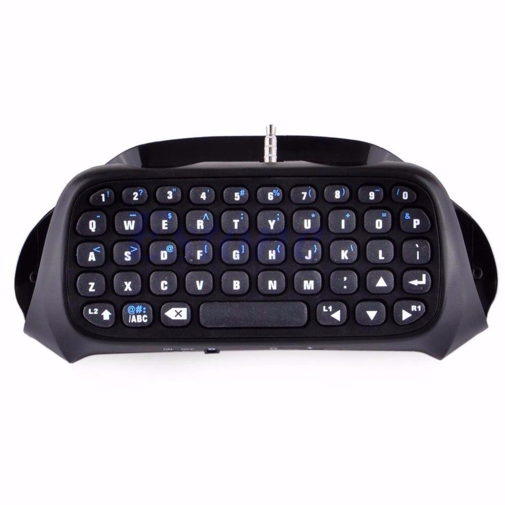Nuevo teclado inalámbrico Bluetooth teclado Chatpad para juego 4 controlador PS4 PlayStation