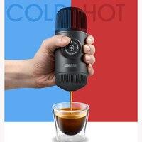 Capsule coffee machine Manual compression espresso machine cafetera viaje Coffee machine tour
