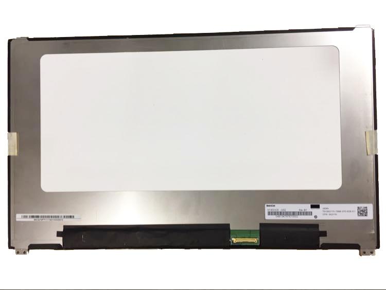"Matriz de portátil 14,0 ""LED LCD pantalla para Dell Latitude 7480 1920X1080 FHD eDP 30PIN Panel replacement"