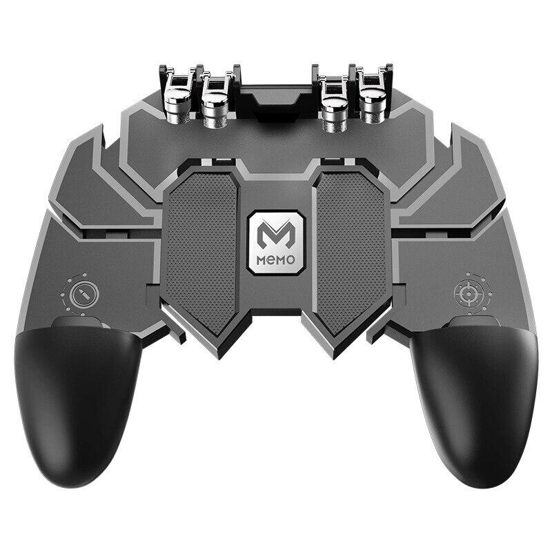 AK66 seis dedos todo en uno controlador de juego para móvil botón de encendido libre Joystick Gamepad L1 R1 gatillo para PUBG Trigger