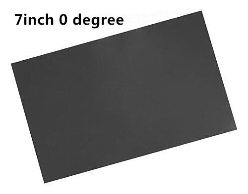 2sheet 7inch LCD LED polarizer polarizing film for laptop notebook screen repair 0degree