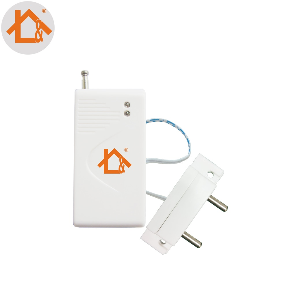 1pcs Wireless Water Leak Sensor Intrusion Detector for GSM Home Security Voice Burglar Smart Alarm 433Mhz