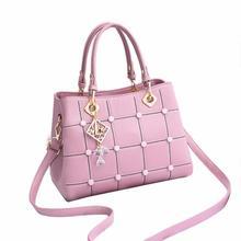 European American Style Shoulder Bag Ladies Hand Tote Bags Fashion Women Ladies Female Crossbody Mes