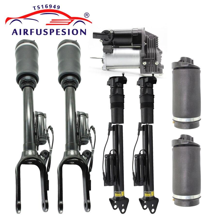1 set air suspension shock absorber strut with ADS for Mercedes benz W251 V251 R Class air spring bag air compressor 2513203031