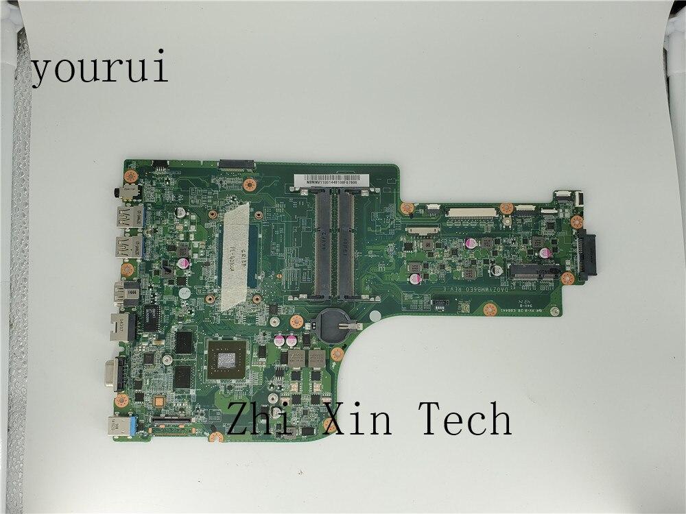 Yourui NBMNV11001 ملحوظة. MNV11.001 DA0ZYWMB6E0 لشركة أيسر أسباير E5-771 E5-771G اللوحة المحمول مع i5-4210u CPU DDR3 اختبار موافق