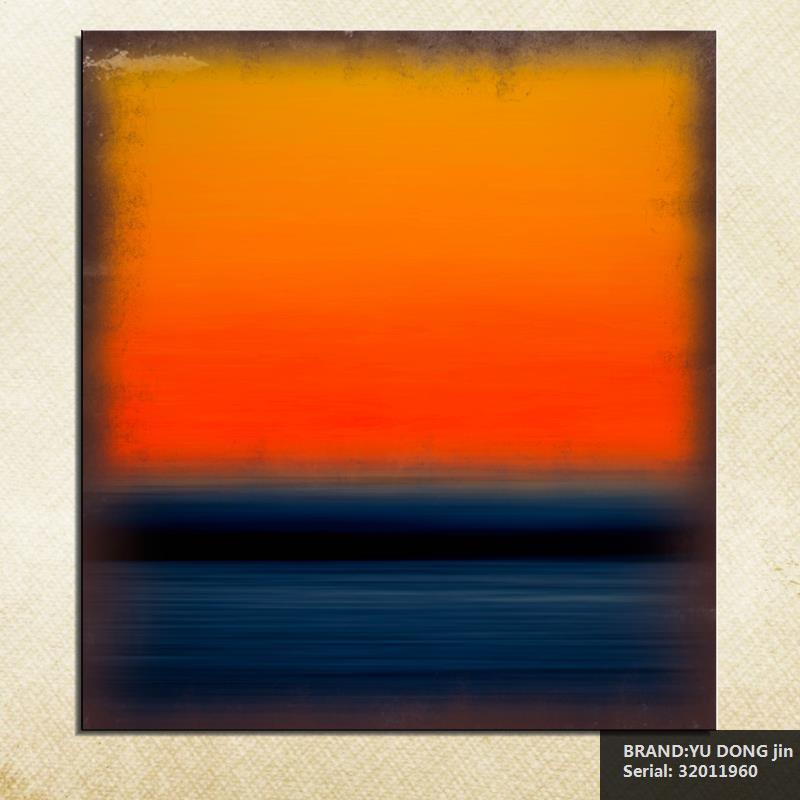 Mark Rothko vida clásica de aceite pintura arte de lienzo con pulverizador sin enmarcar la imagen de piedras preciosas cocina Waterproof32011960