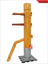 Fedex/DHL equipo chino de artes marciales Ip Man Wing Chun juegos de Maniquí de madera Wushu ejercicio personalizado vcds envío gratis al por mayor