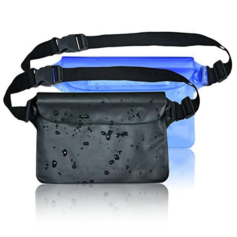 Drift bolsa impermeable para teléfono móvil dinero natación buceo playa PVC caso bolsa subacuática bolsa seca con correa de cintura