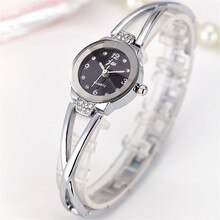 New Brand Women Watches Alloy Crystal Wristwatches Ladies Dress Watches Gift Women Gold Fashion Luxu