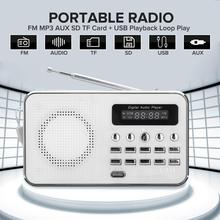 Portable Mini T-205 HiFi carte haut-parleur numérique stéréo multimédia haut-parleur FM Radio Camping randonnée Sports de plein air lecteur de musique