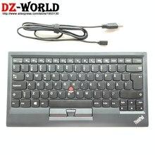 Original nouveau pour ThinkPad Bluetooth suède finlande clavier KT-1255 sans fil tablette PC ordinateur portable USB chargeur Trackpoint 03X8711