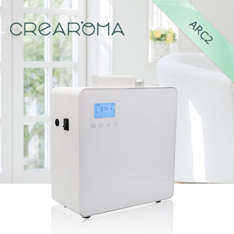 Hotel lobby perfume diffuser machine wall mounted aroma nebulizer