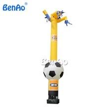 Inflatable football/soccer balloon air dancers/Wacky Inflatable Tube Man Sky Dancer with Blower,custom balls football air man