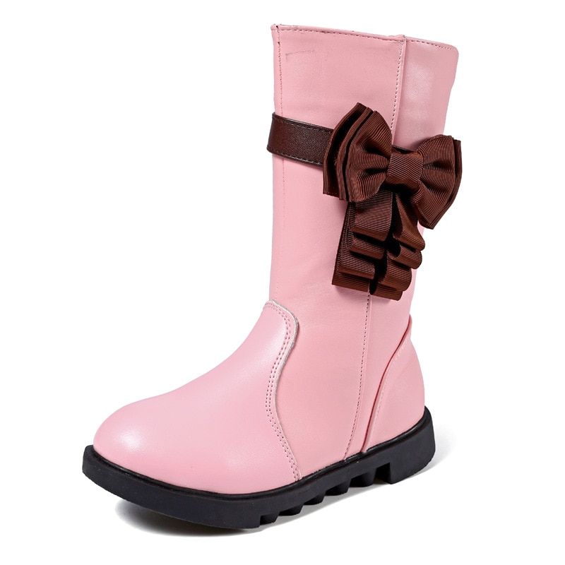 mid-calf-girls-boots-fashion-autumn-winter-boots-for-children-classic-boot-kids-boots-pu-leather-baby-toddler-shoes