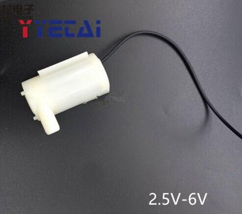 YongYeTai 3V маленький водяной насос горизонтальный маленький погружной насос DC3W фонтан вертикальный мини 4,5 V 5V 6V
