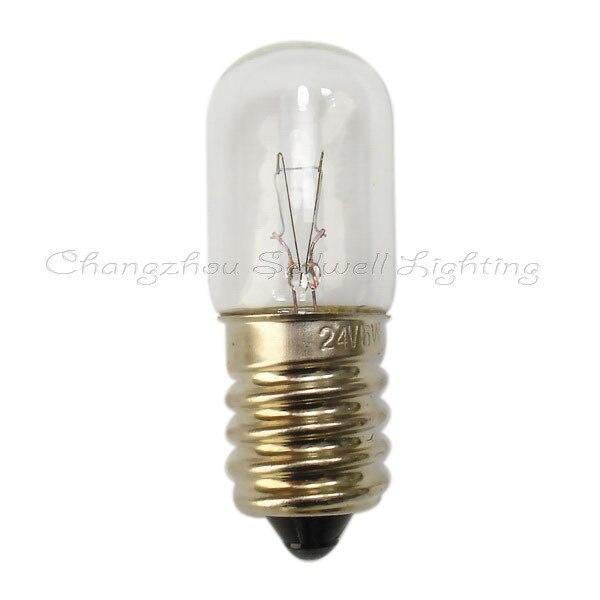Lámpara pequeña 24v 5w e14 t16x45 A162 10 Uds sellwell de iluminación