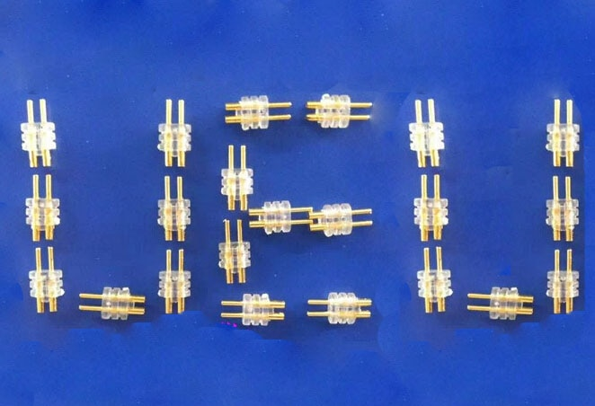 Auriculares auriculares agujas para DIY para ue 0,75mm final SF3 SF5 5PRO 5EB TF10 UHP336 100 Uds