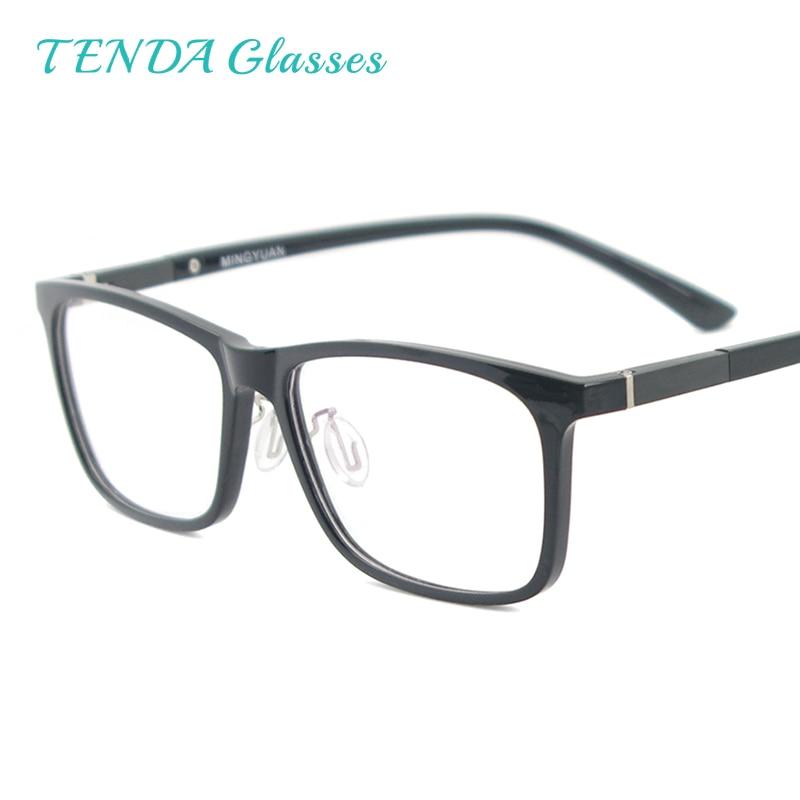 Мужские и женские прямоугольные гибкие пластиковые очки TR90, легкие компьютерные очки с защитой от синего света