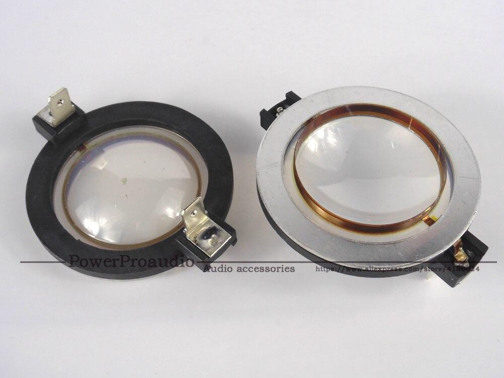 2PCS /LOT Replacement Diaphragm CCAR Flat Wire 35.5mm RCF ND1411 Speaker part 8Ohm
