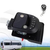 keyless entry door lock latch handle knob deadbolt rv camper trailer hitch password lock
