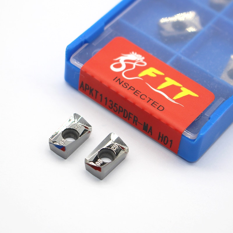 APKT 1135 APKT1135PDFR MA H01 алюминиевый резак лезвие вставка для режущего инструмента токарный инструмент CNC инструменты AL + оловянный сплав дерево