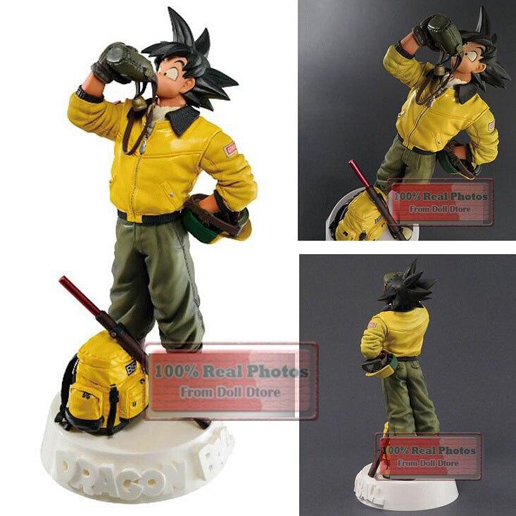 20CM 1 Uds figura de anime japonés dragon ball Son Goku agua potable ver figura de acción modelo collecible juguetes para niños