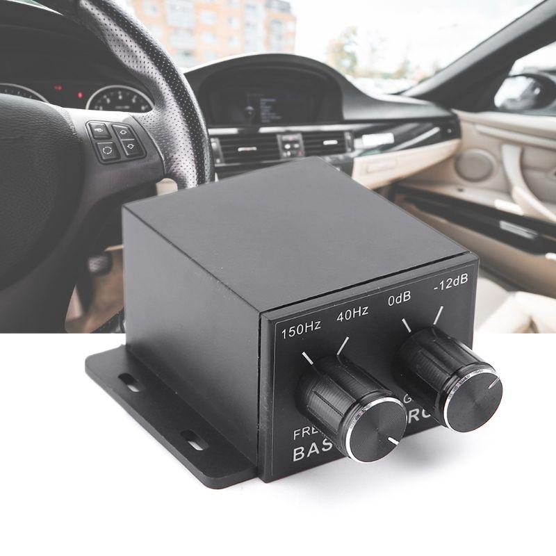 Car Audio Regulator Amplifier Bass Subwoofer Stereo Equalizer Controller 4 RCA #306