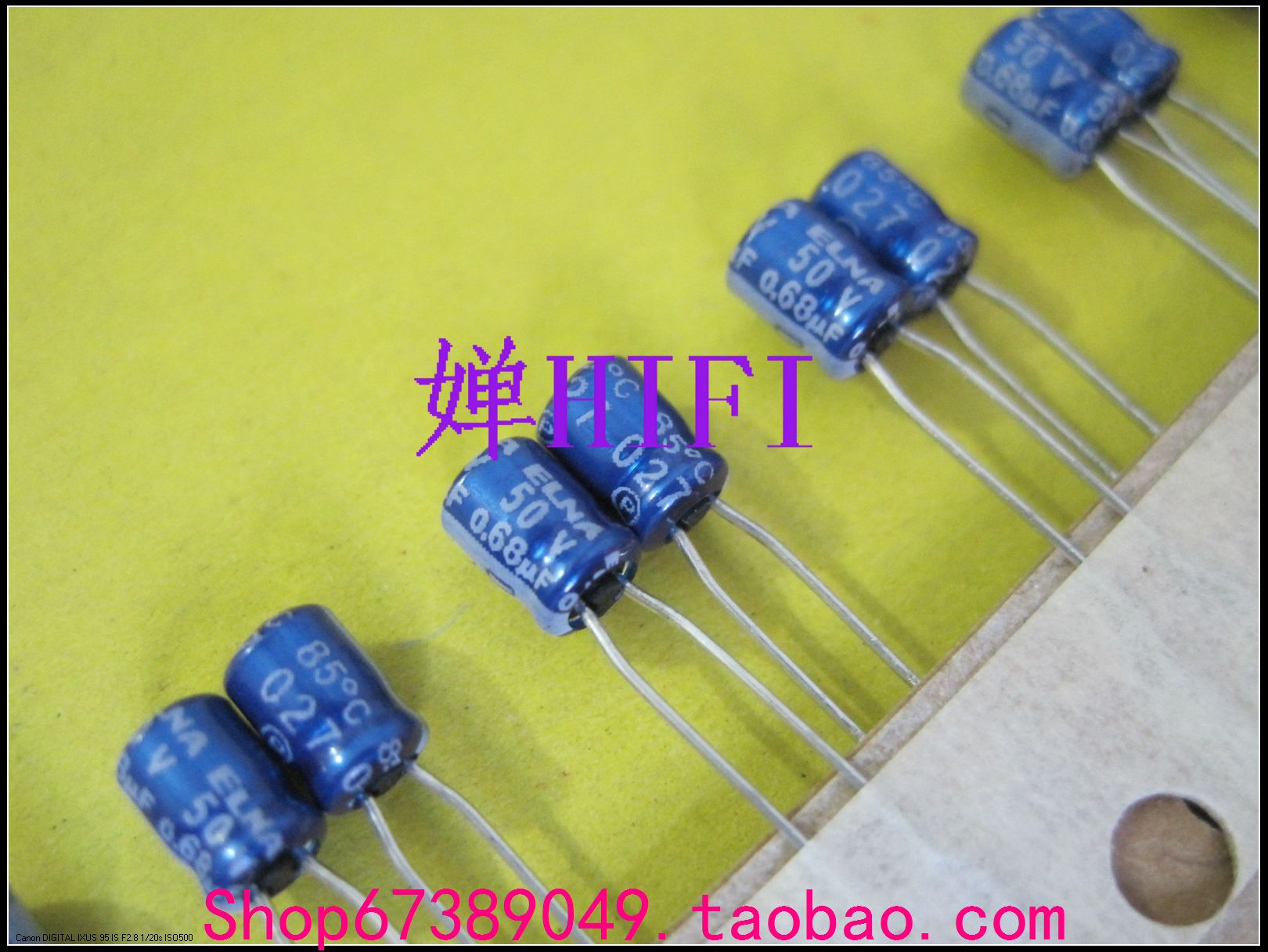 2020 hot sale 20PCS/50PCS ELNA original blue robe RC2 electrolytic capacitor 50v0.68uf 4x5mm free shipping 2020 hot sale holland bc 20pcs 50pcs 82pf 100v 2