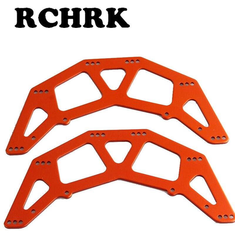 Piezas de coche a control remoto, modelo HSP 1/10 de 2 uds., placa lateral para HSP 18026 Himoto Redcat 94180 4WD, pangolín de oruga de roca