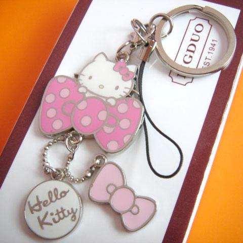 Hello Kitty key chain key ring cat keychain key holder cute portachiavi chaveiro llaveros mujer bag charm free shipping