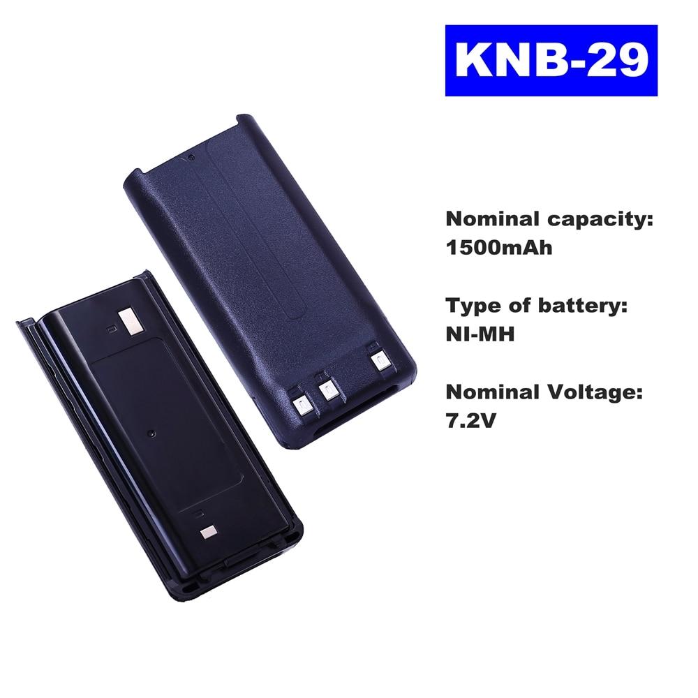 7.2V 1500mAh NI-MH Radio Battery KNB-29 For Kenwood Walkie Talkie TK-3207/3207G/3317/3217 Two Way Radio недорого