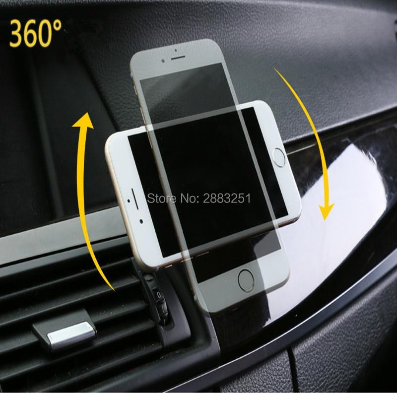 Soporte magnético de teléfono para coche con rotación de 360 GPS para Nissan qashqai tiida almera juke primera x-trail accesorios para coche