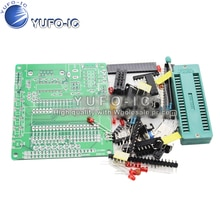 51/AVR 마이크로 컨트롤러 개발 보드 플레이트 DIY 학습 보드 스위트 정장 STC89C52 0.08-X