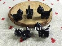 Livraison gratuite  Resine 3D chat noir mignon  Produit de micro paysage solide en resine pour la decoration de la maison  Artisanat en resine