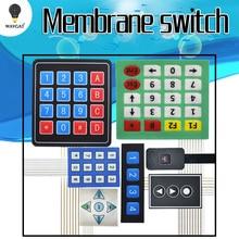1 3 4 5 12 16 20 Ключ 4x4 мембранный переключатель клавиатуры 3x4 4x4 4x5 матричная Матрица клавиатуры