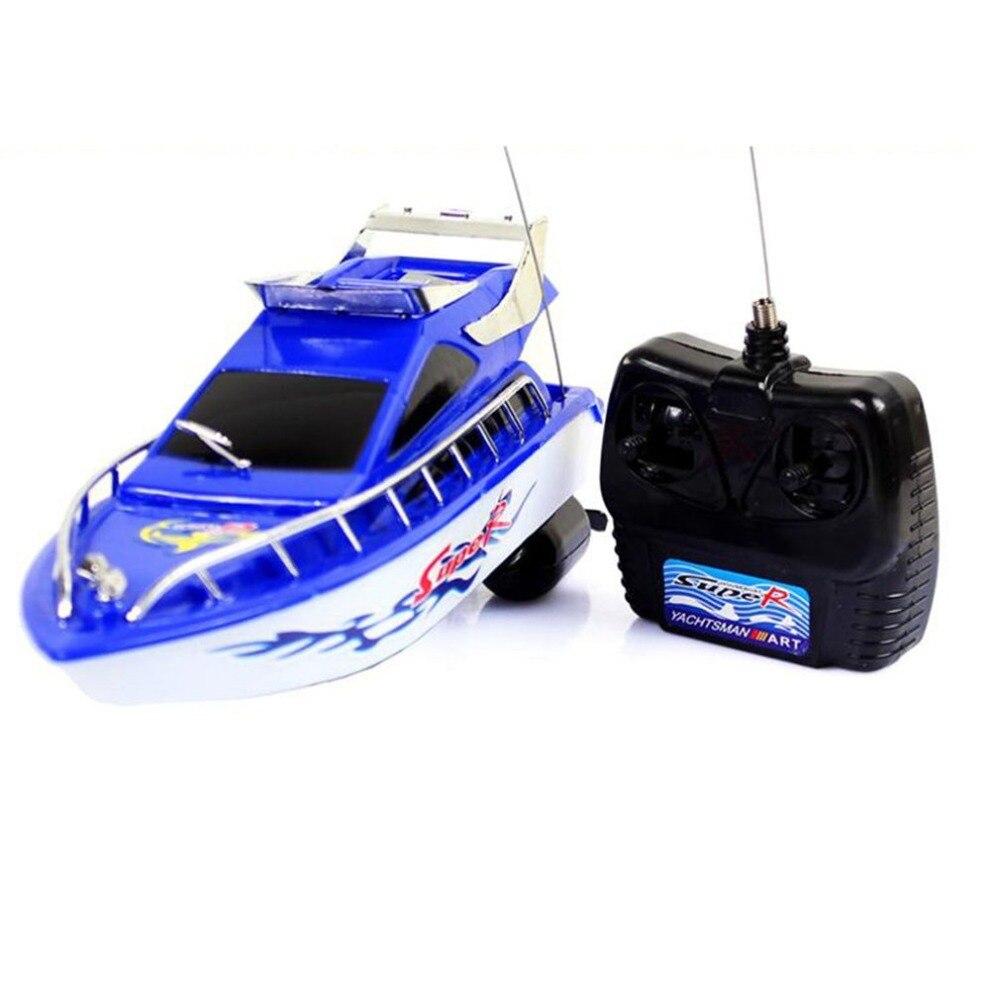 Скоростная лодка с дистанционным управлением, супер мини-скоростная лодка с дистанционным управлением, 4-канальный Радиоуправляемый катер, игрушки, подарок на день рождения, игрушки для детей