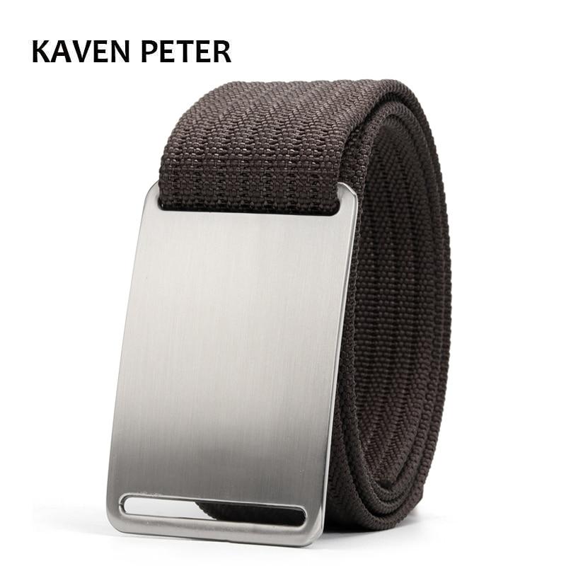 AliExpress - Canvas Military Tactical Belt For Mens Designer Belt Men Cinto Masculino Luxo 1.5″ Nylon Webbing Waist Belt