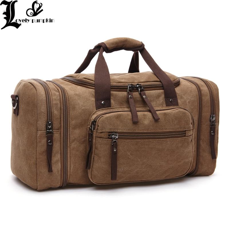 Вместительный мужской ручной чемодан, дорожные спортивные сумки, холщовые дорожные сумки, сумки на плечо для выходных, многофункциональная...