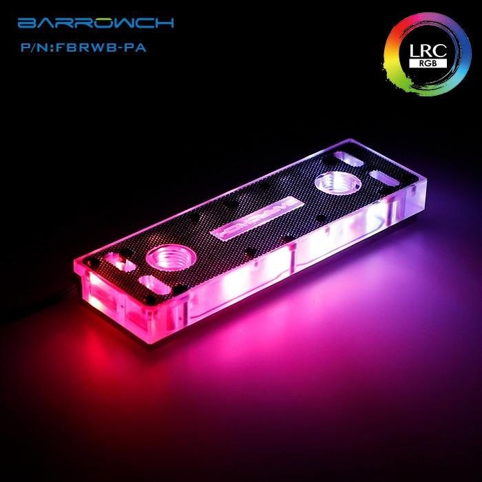 Barrowch FBRWB-PA/FBRHS-LA, bloques/Kits de agua RAM, iluminación LRC 2,0, estándar con armazón de refrigeración RAM.