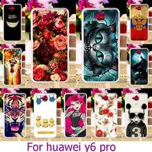 Ojeleye TPU Plastic Phone Case For Huawei Honor 4C Pro TIT-AL00 Y6 Pro TIT-L01 TIT-U02 Enjoy 5 Honor Holly 2 Plus TIT U02 Case