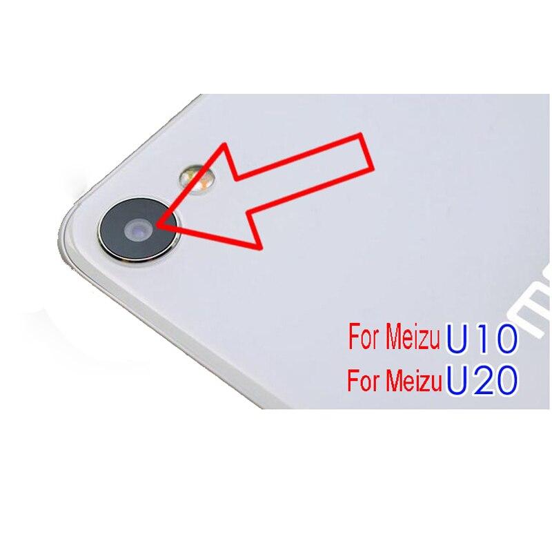 Yeni Arka Arka Kamera Cam Lens Için Meizu U20 U10 Kamera Cam Lens Ile Yapışkan Bant Etiket