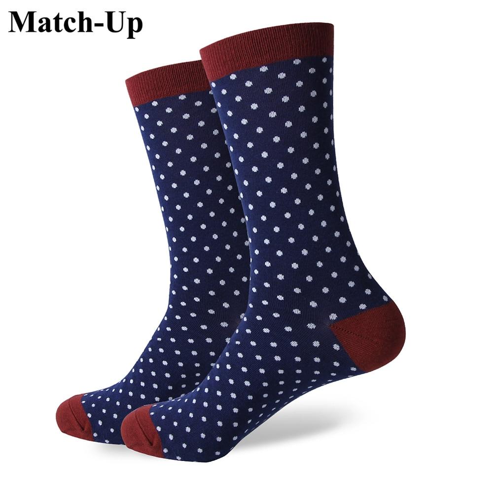 Сочетающиеся деловые мужские хлопковые носки Свадебные носки брендовые носки американские размеры (7,5-12) 420-425